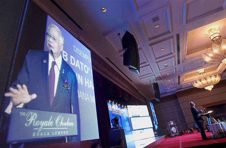 Making a change: Prime Minister Datuk Seri Najib Tun Razak launching the Malaysia Education Blueprint 2015-2025 (Higher Education) at Royale Chulan Hotel.