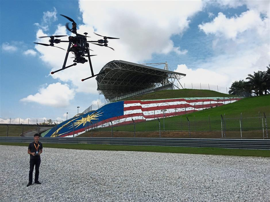 Taking drones to new heights   The Star Online