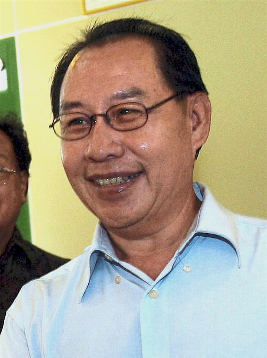 Kitingan: His Sabah STAR holds sway in Keningau and Beaufort.