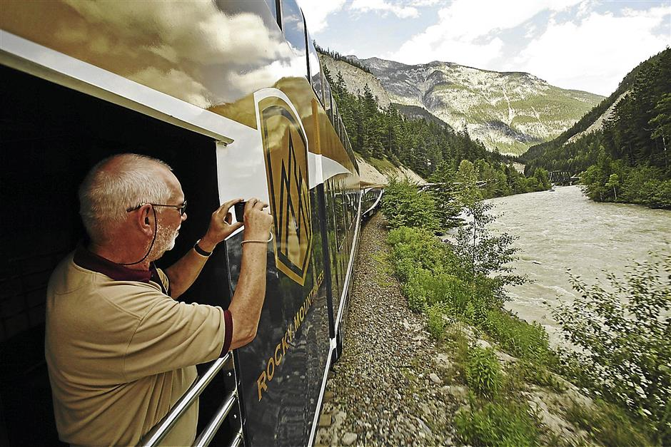 Riding the 'Rocky Mountaineer' through a Canadian dreamscape