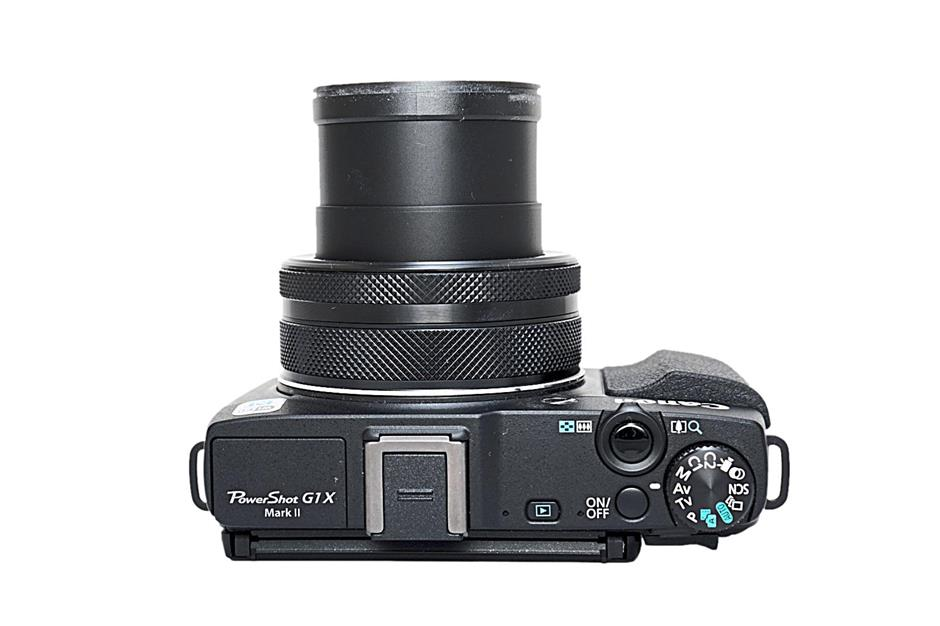 Control: the Canon G1X Mark II's controls are easy to figure out