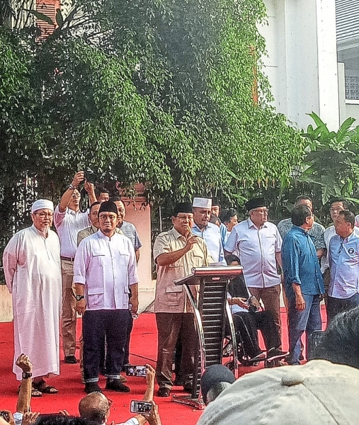 The use of identity politics is prevalent in the election campaign of Ex-Special Forces General Prabowo Subianto.