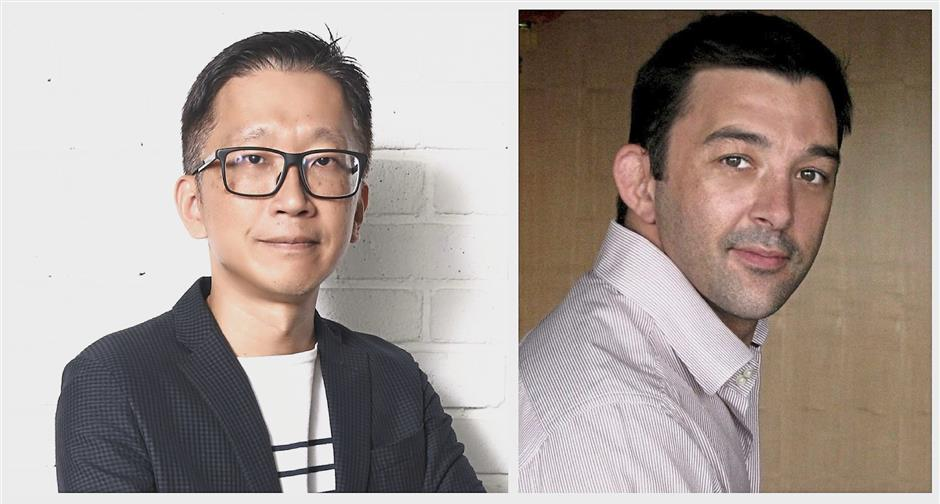 (from left): Malaysian Digital Association (MDA) president Serm Teck Choon and vice president Nick Drew.