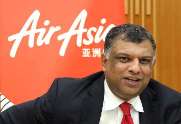 Tony Fernandes Named In Time 100 The Star