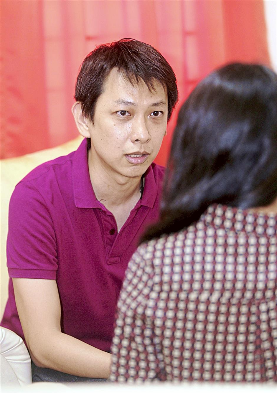 'It makes a lot of difference to have someone pull you through a rough patch,' says Kenny Lim.