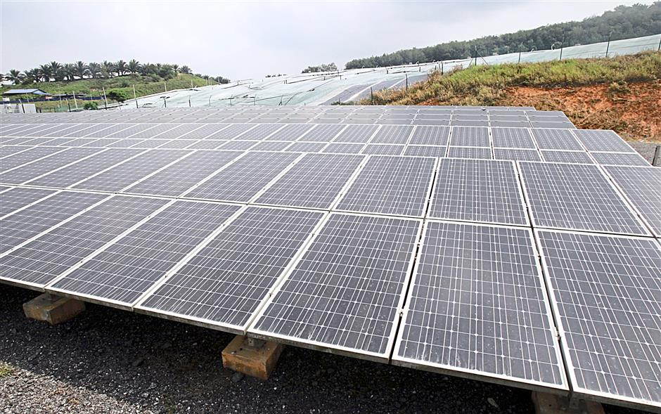 Chock said that the landfill has plenty of land, including the cells where flexible solar panels can be attached, making solar energy generation another option here.