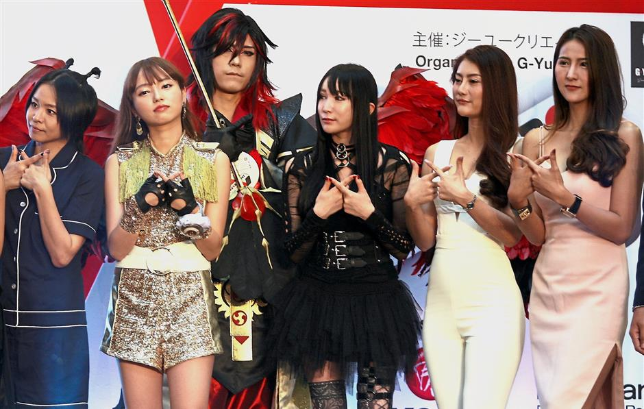 Visitors got a chance to rub shoulders with popular cosplayers and celebrities at Jemy 2018.