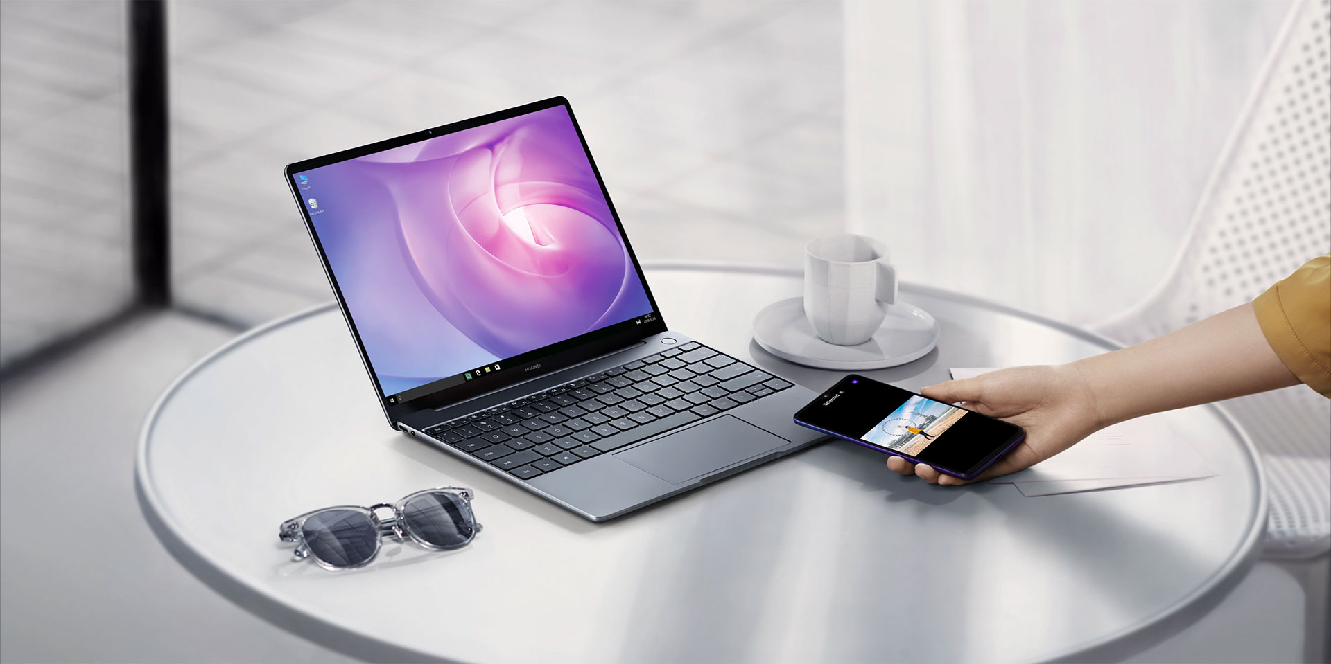Huawei MateBook 13 makes it easy to share files with Android