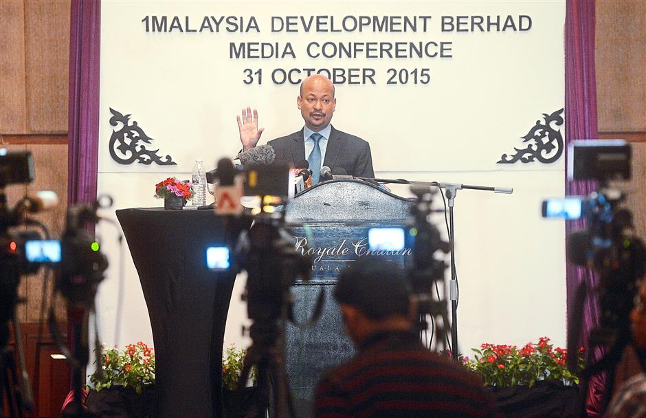 Replying to queries: Arul addressing questions during a press conference in Kuala Lumpur. — Bernama