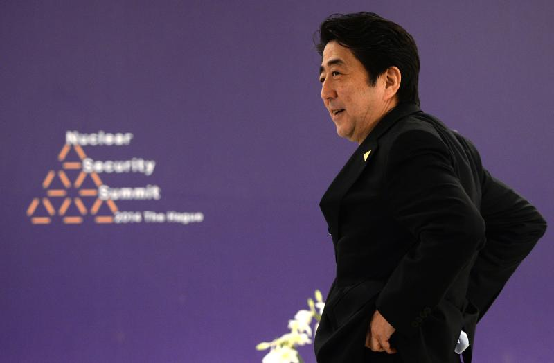 Japanese Prime Minister Shinzo Abe has touted the TPP as a key part of his growth strategy but the outlook for a US-Japan deal remains cloudy as negotiations have been intractable - AFP Photo.