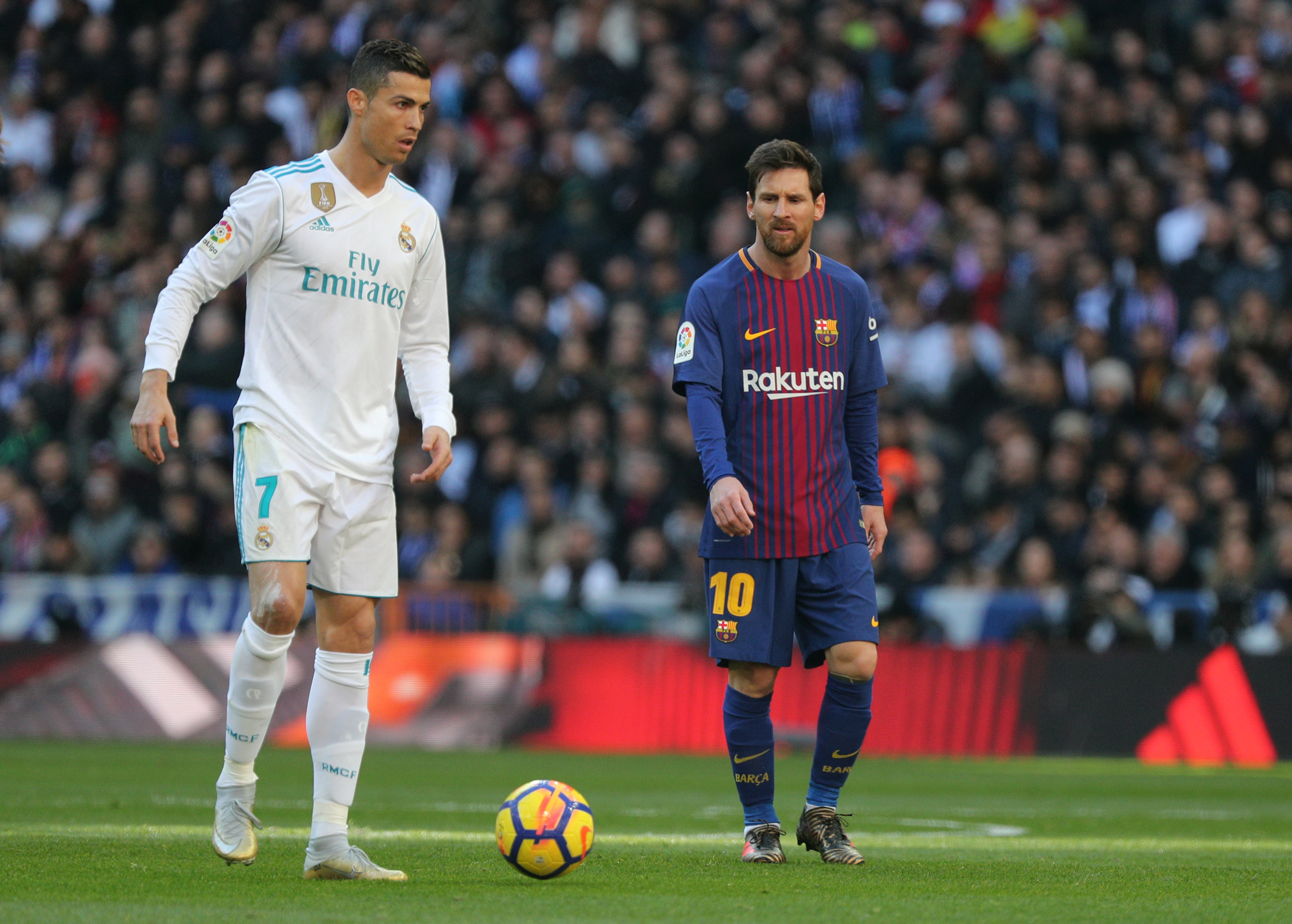 the best attitude 0973e b4633 Real Madrid are weaker without Ronaldo, says Messi | The ...