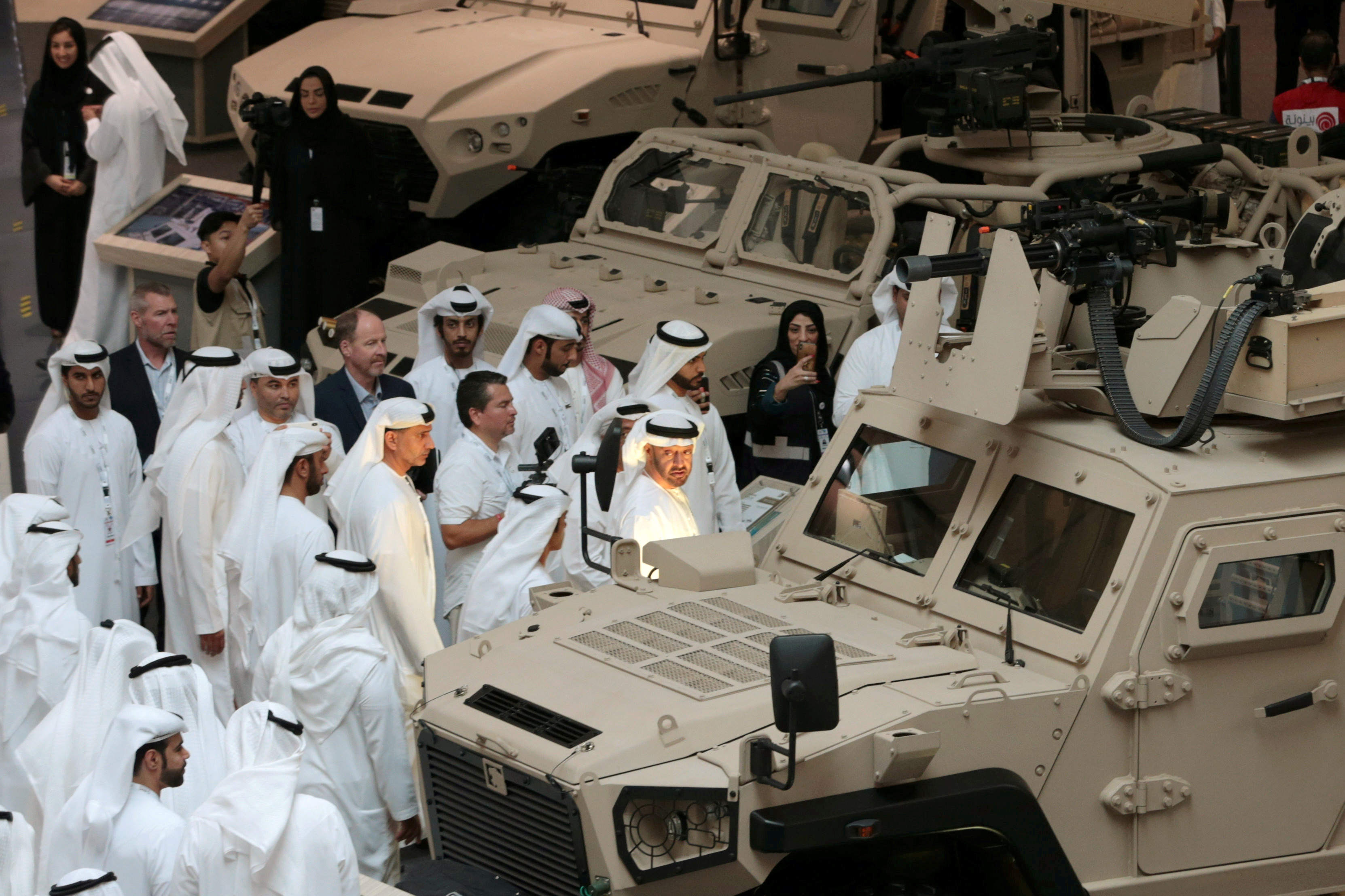 UAE signs $5 5 billion in military contracts as Yemen war