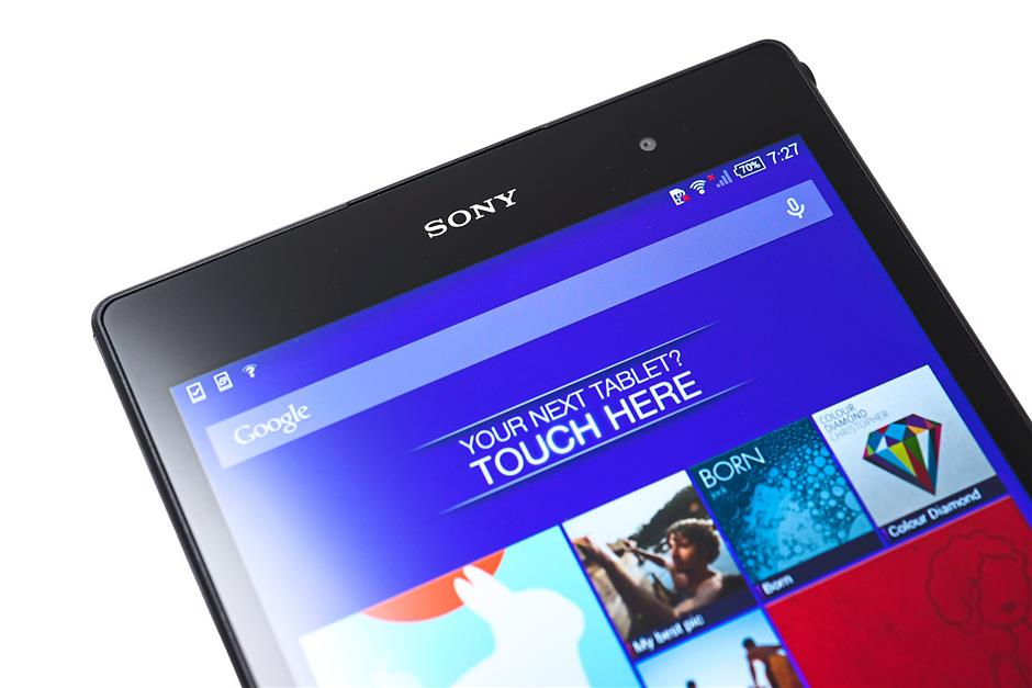 Slim: the Sony Xperia Z3 Tablet Compact is pretty slim