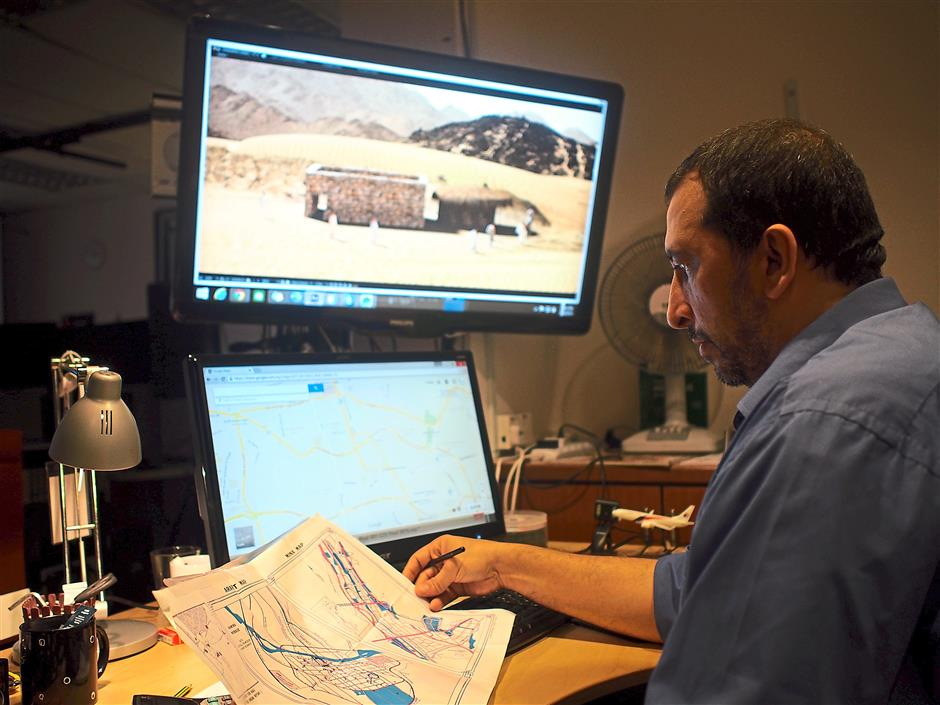 Geography meets science: The company had to ensure that the entire journey of the pilgrimage is recreated in the simulation and every detail that pilgrims would encounter appears in their simulator.