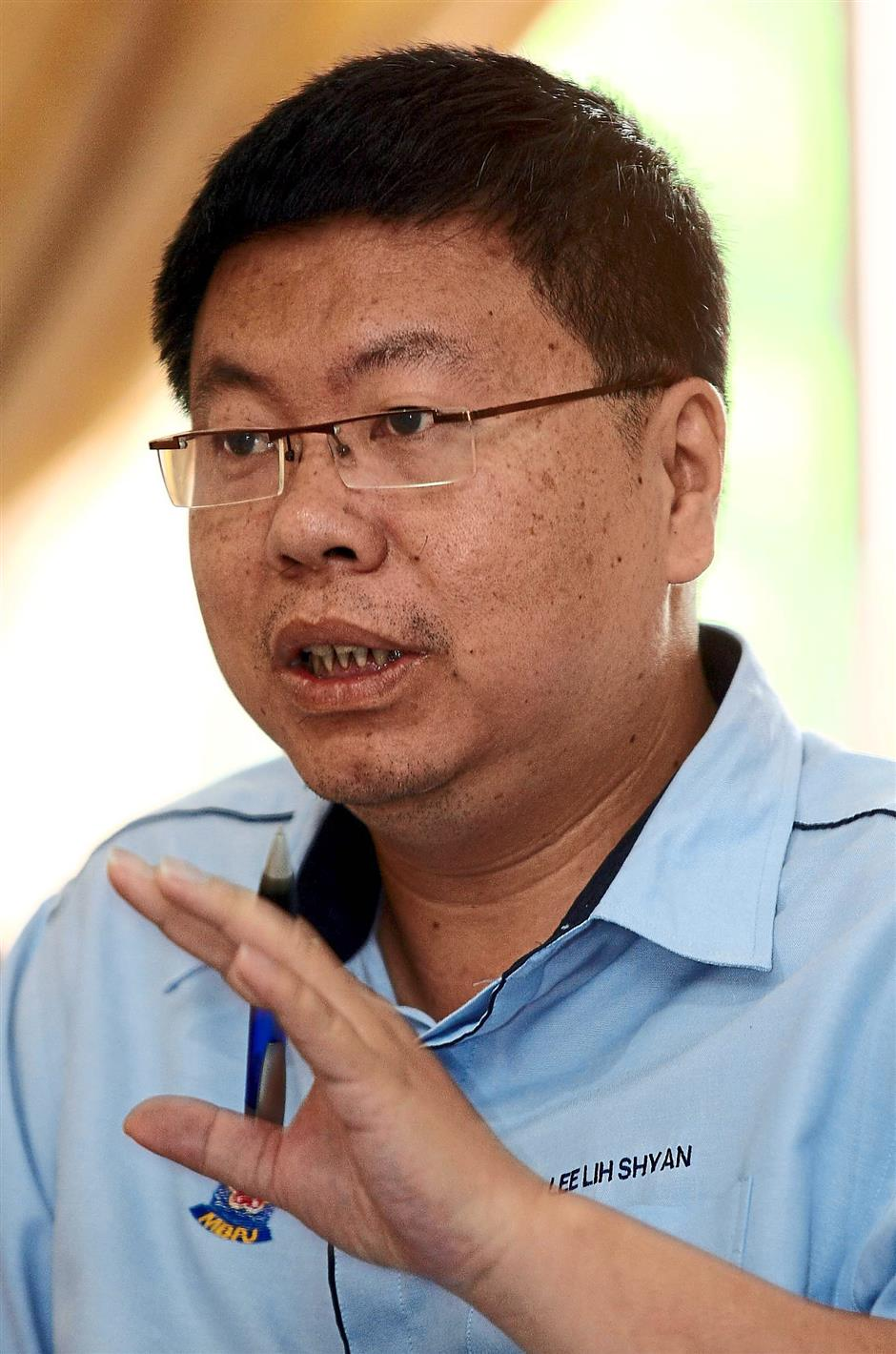 Petaling Jaya City Council One-Stop Centre director Lee Lih Shyan. AHMAD IZZRAFIQ ALIAS / The Star.