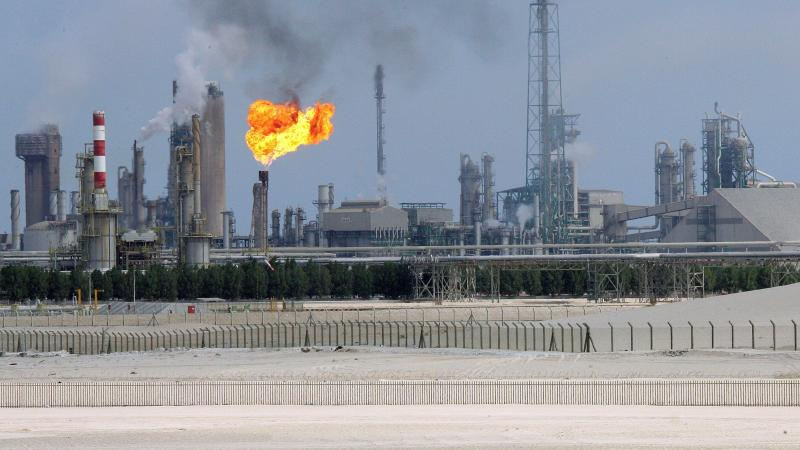 An oil refinery in the Gulf emirate of Qatar. With oil prices slumping below US$50 a barrel, a price war has broken out between producers, including the Gulf states, to secure customers in Asia - AFP Photo.