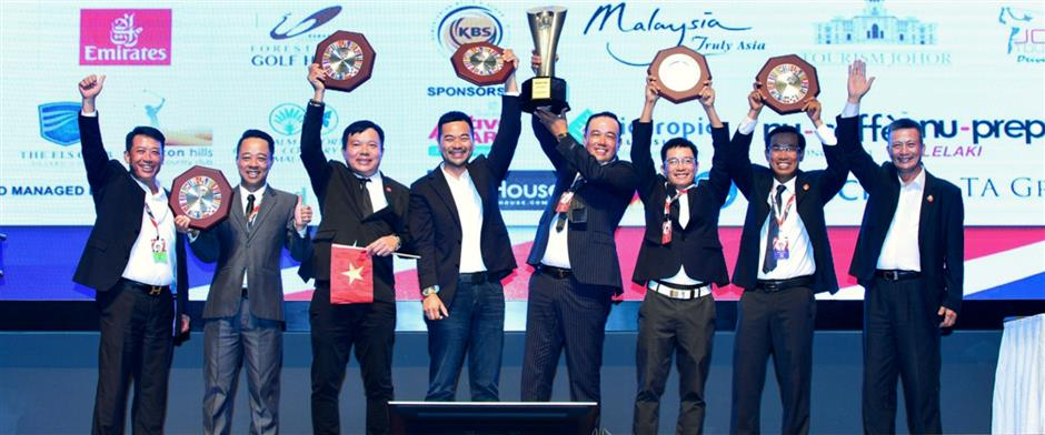 Vietnam again emerged as the winners of the World Amateur Championship team event.