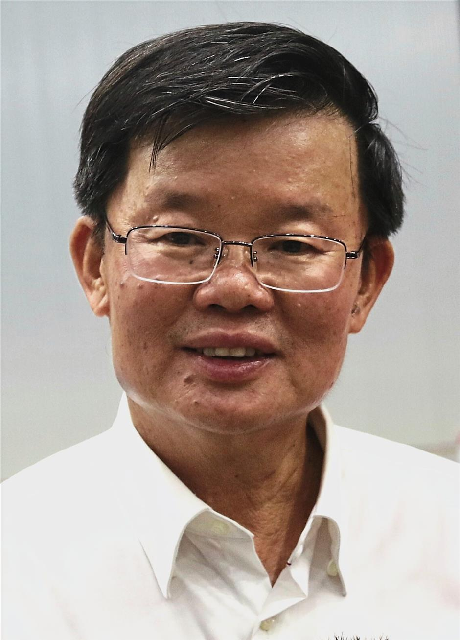 Chow says that by 2050, Penang will become a low-carbon state that emphasises the integrity of the people and the environment.