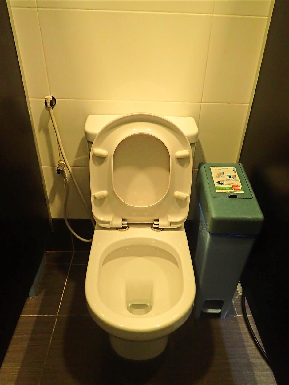 7. Clean-up after yourself when using public washrooms