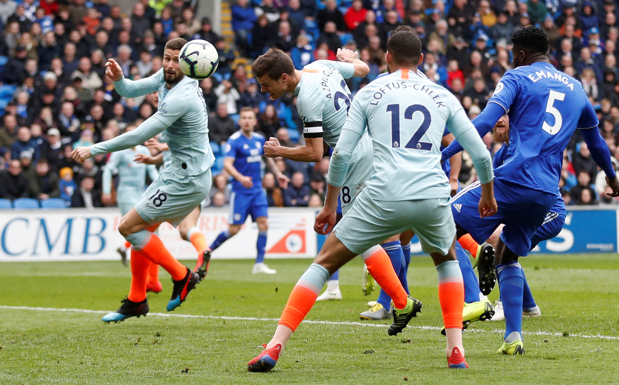 Late goals hand Chelsea thrilling win over unlucky Cardiff | The