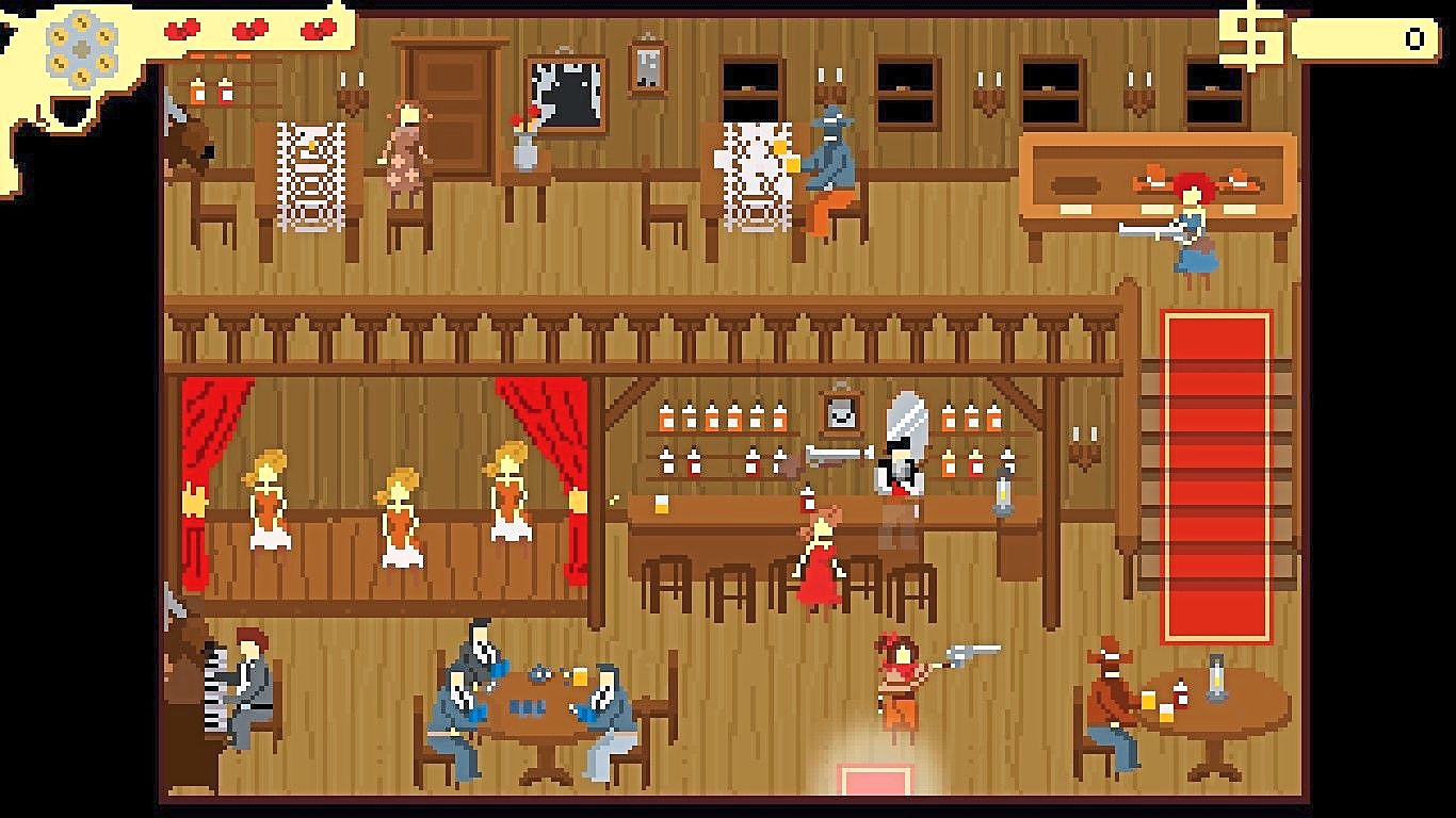 Westerado captures the spirit of the Old West with its gorgeous pixelated artwork.