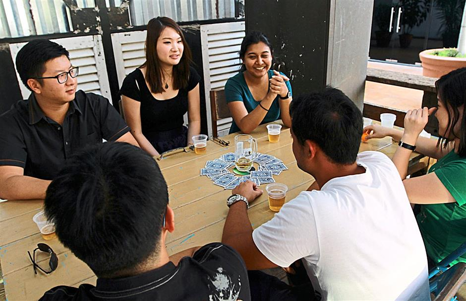 The seven game. Players have to clap whenever there is a multiple of seven mentioned.
