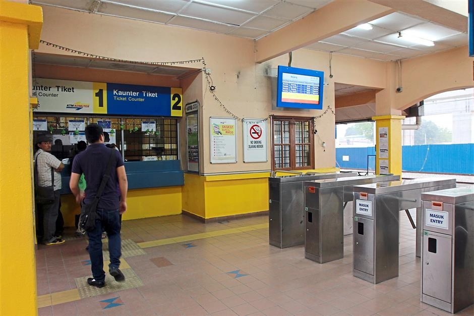The Kajang KTM station hasn't changed much in the past 10 years.