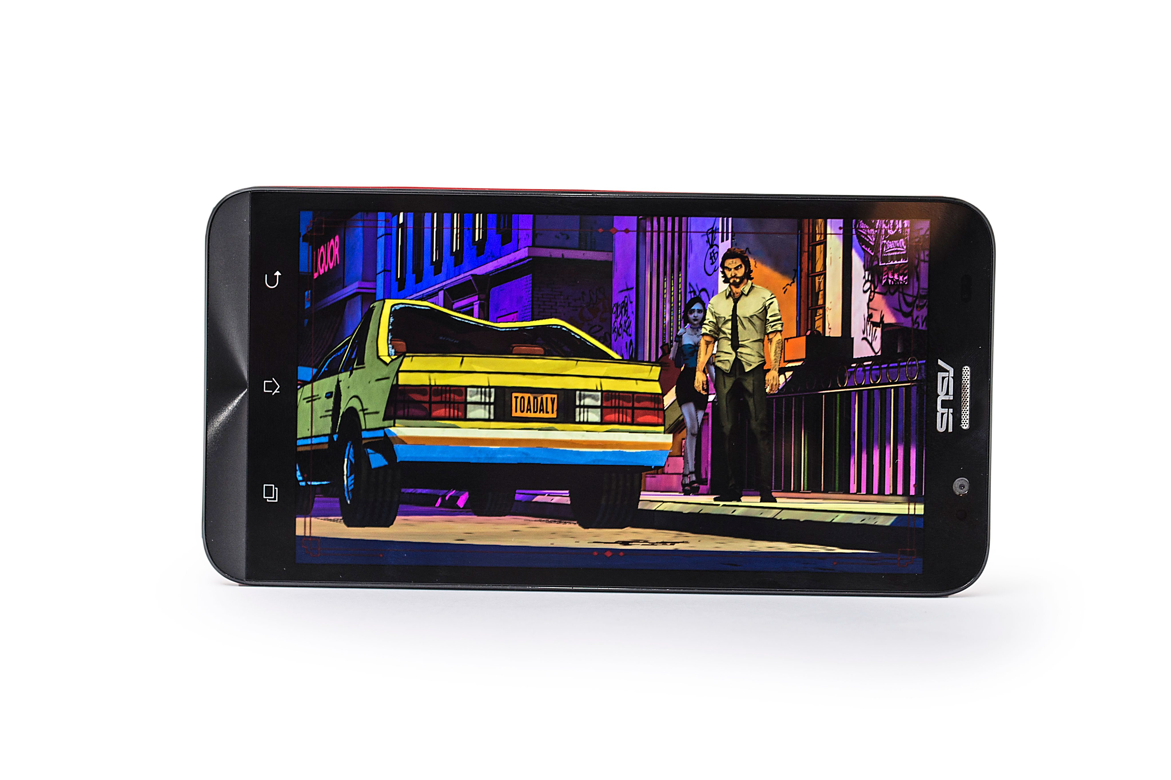 The Wolf Among Us performed well without any issues on the Zenfone 2, which is powered by Intel Atom 2.3GHz quad-core processor.