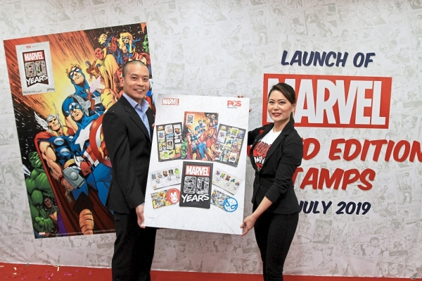 Superheroes' stamp of approval | The Star Online