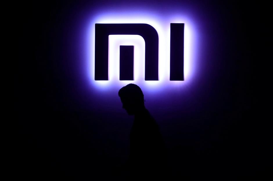 FILE PHOTO: A Xiaomi logo is pictured in Mexico City, Mexico, May 9, 2017. REUTERS/Edgard Garrido/File Photo