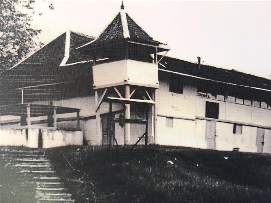 Old relic: A more recent photograph of Fort Alice before it was dilapidated. The fort has been through many uses over 150 years. Here, the ground floor has been walled up. In the newly restored fort, the ground floor is opened up once again.