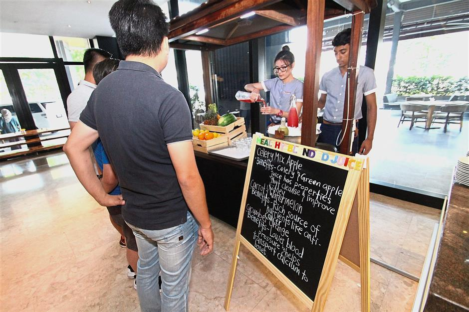 Hotel offers fresh carvery for meat lovers | The Star Online