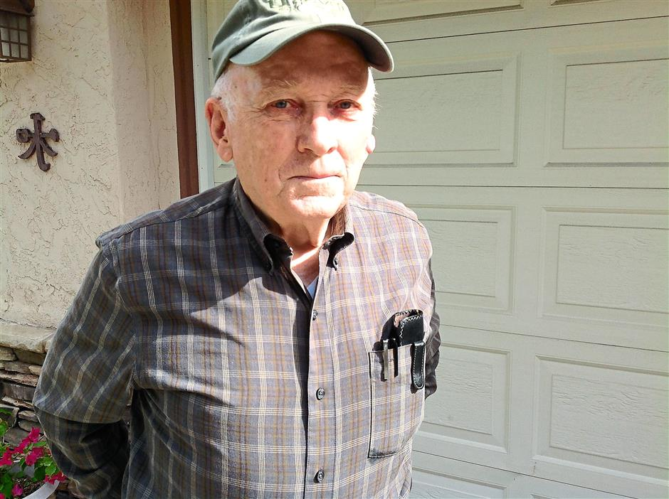 Robert Stebbins, now 81 and retired in California, was concerned about security in his section of the US Embassy, two weeks before the 1975 Japanese Red Army siege.