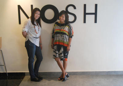 Happy partnership : NOSH is the fulfilment of a long-time goal for Ann Lee (left) and Judith Sakata.