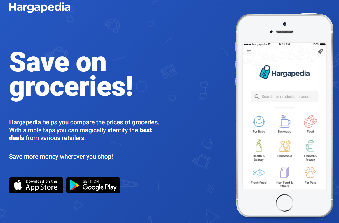 Price Comparison App >> Hargapedia App Helps Shoppers Compare Grocery Prices The