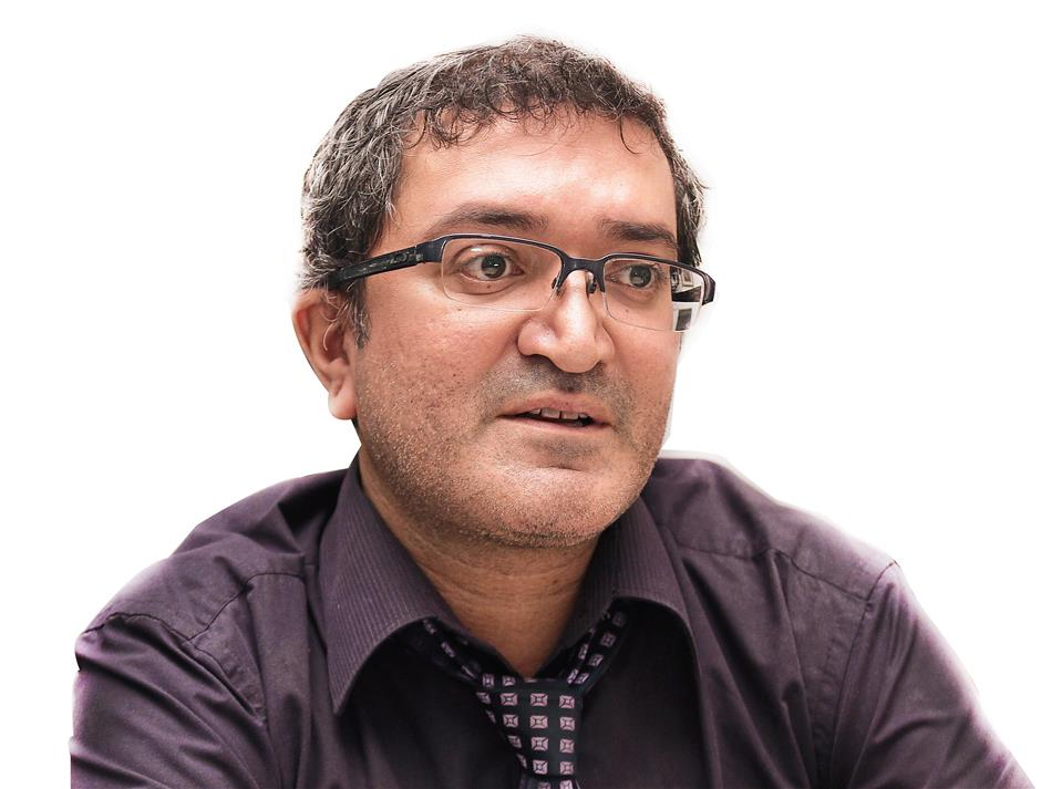 British science teacher Anoop Rai, 42