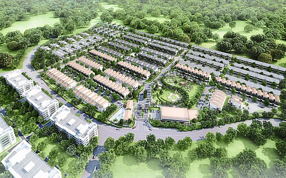 An artist's impression of the Nadayu 92 development. Nadayu Properties CEO Mohd Farid Nawawi says the project is paying off handsomely.