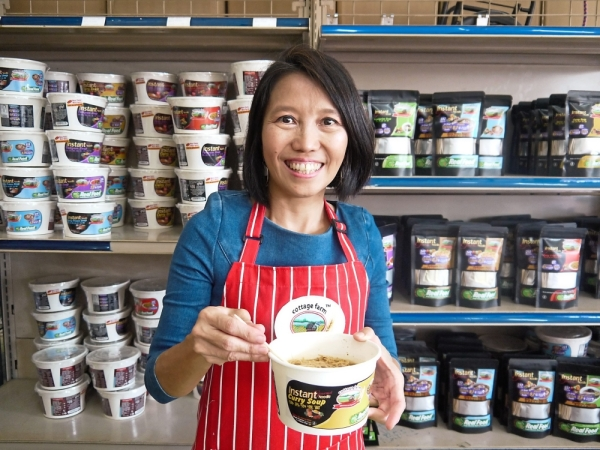 Right guide: Chong hopes to help people make healthier choices when it comes to food.