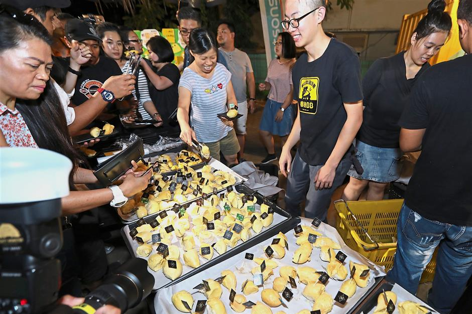 It was an eat-all-you can durian feast at as Watsons Malaysia rewards its elite members.