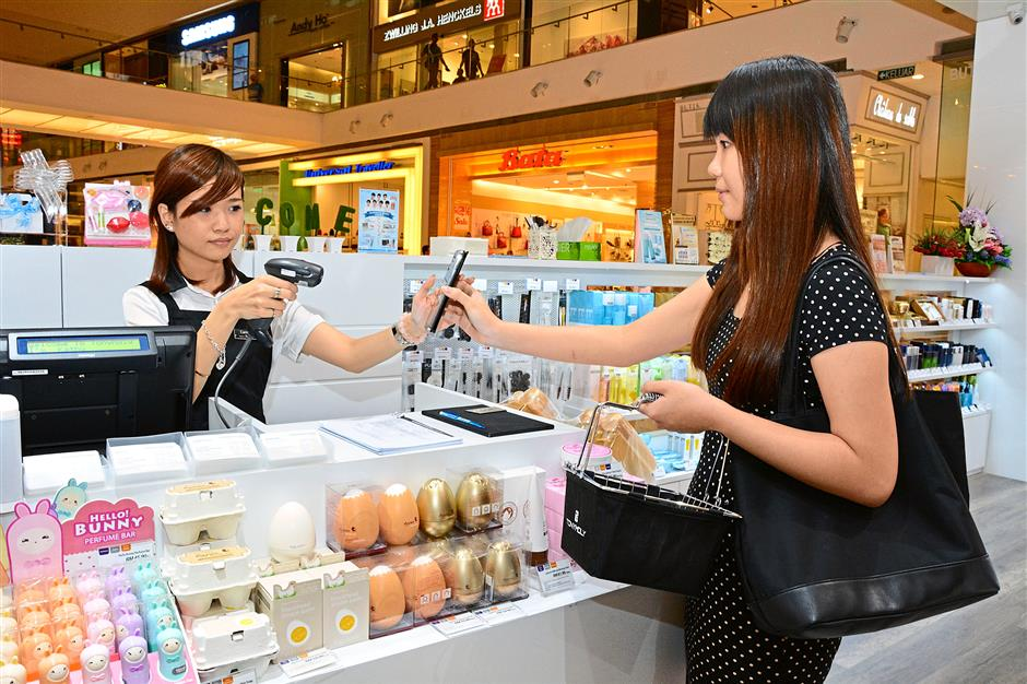 Personal touch: Brands are hoping to build better relationships with their customers through the use of location-based technology such as the iBeacon.