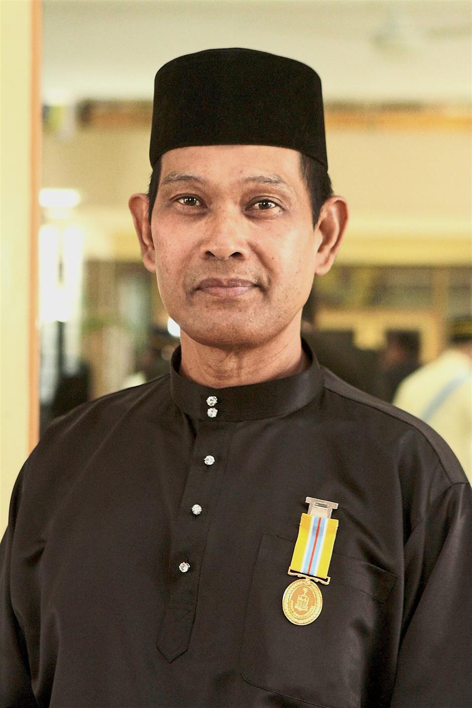 Auxiliary policeman Konst Zaidi Salleh is the sole recipient of the PGP award.