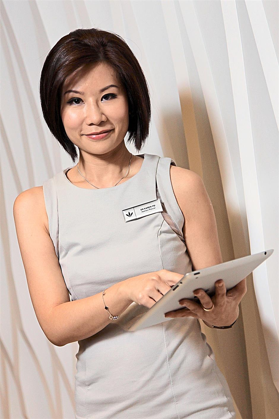 Consultant Aesthetic Physician Dr Karen Po. (do not reuse)