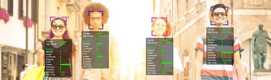 Glueck Technologies uses AI, machine learning and facial recognition to detect and analyse viewers. — Glueck Technologies