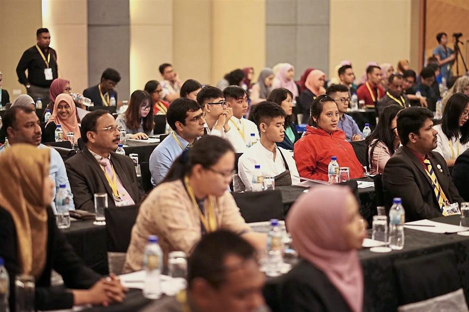 Participants at the Second International Conference of Pharmacy and Health Sciences in Ipoh.