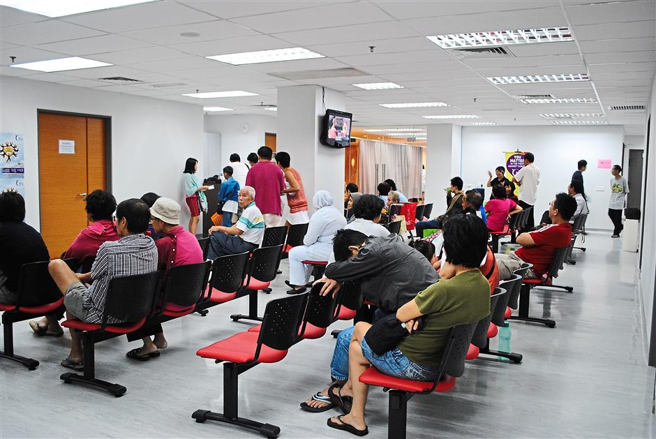 Patients waiting for their turn at the NCSM Cancer Treatment Centre. — filepic