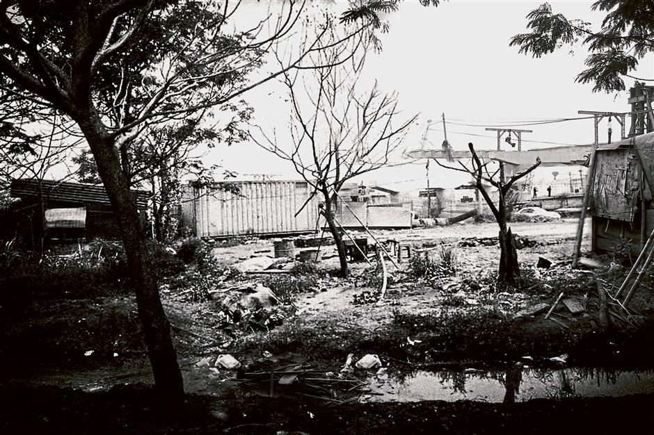 Yen So Park before the restoration.