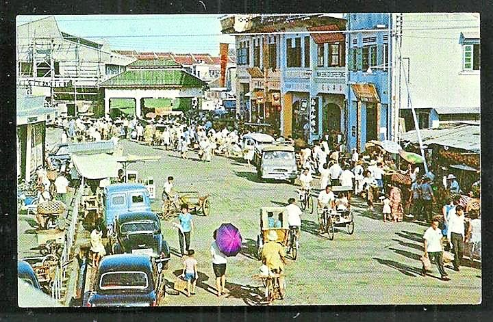 Bustling spot: This 1960s photo shows just how busy Jalan Kee Ann was during its heyday.