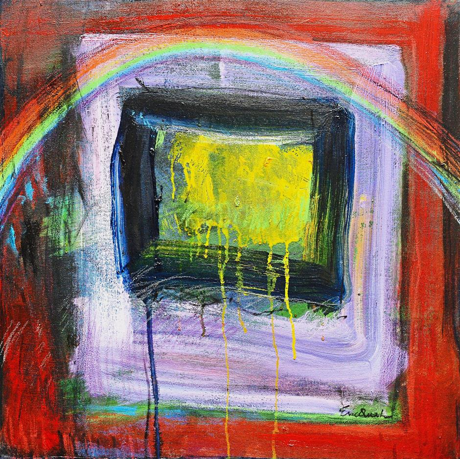 The titular piece 'Over the Rainbow'.