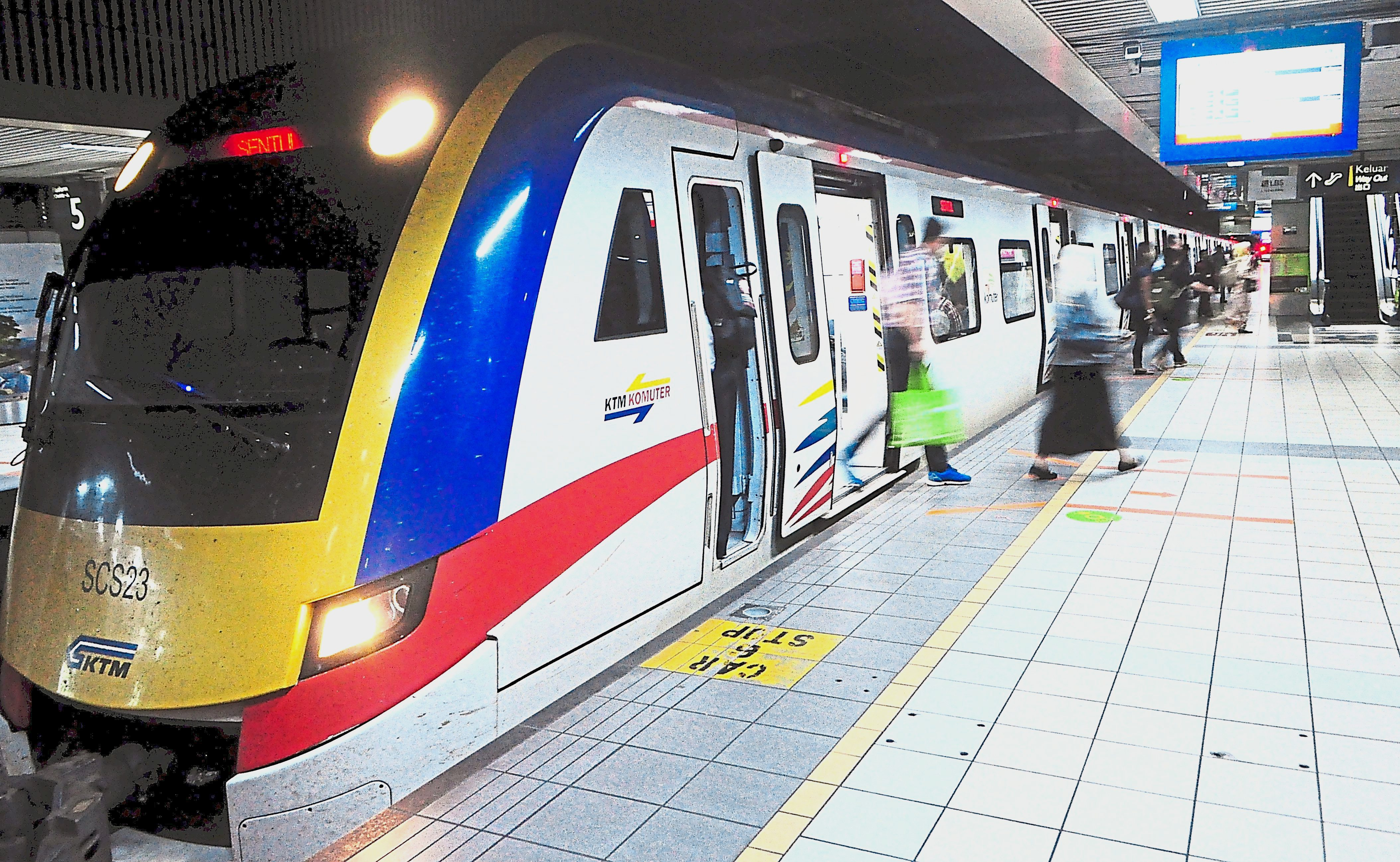 The Seremban-Nilai-KL Sentral-Sentul Komuter Express service is only available on weekdays. It does not run on weekends and public holidays.  u2014 Photos: GRACE CHEN/The Star