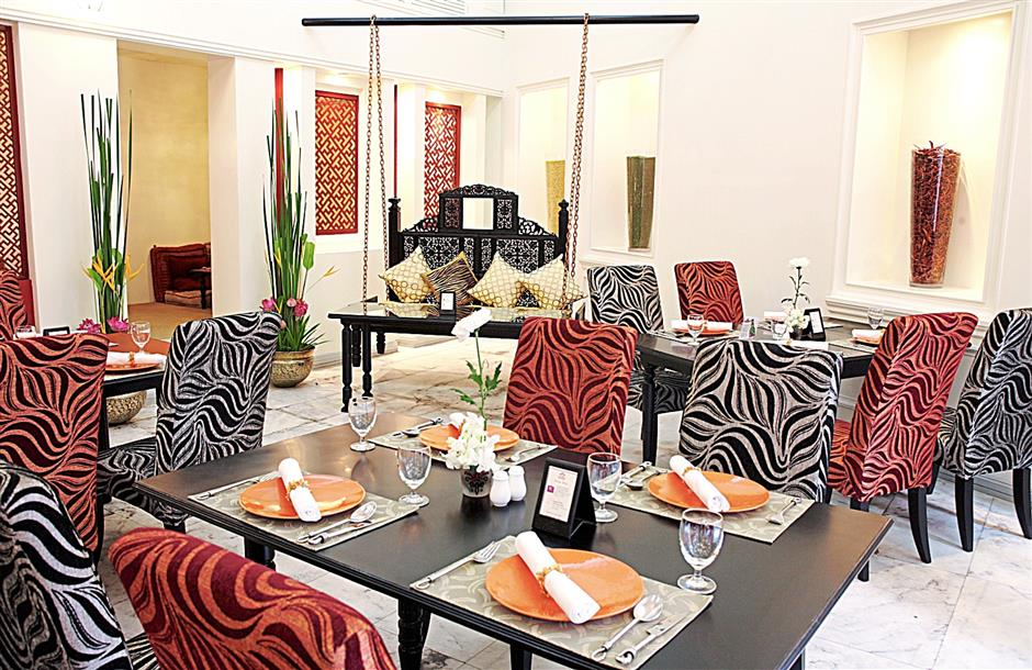 Interior of Mrs Balbir's Restaurant on Sukhumvit Soi 11, Bangkok. There are now six other Mrs Balbir's in Bangkok.